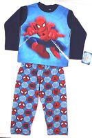 Marvel Spider-man Boys 2 Piece Pajama Set 100% Polyester Sizes 4 6 8 NWT