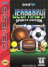 Jeopardy Sports Edition SG New Sega Genesis, sega_genesis