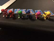 Paw Patrol Pup Buddies Figure Lot Of 6 Chase Marshall Skye Rubble Rocky Zuma