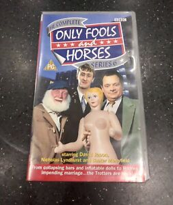 Only Fools & Horses Double X2 Videos (VHS) Series 6 Sealed Un Opened - Brand New