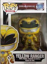 FUNKO POP - Yellow Ranger - Saban's Power Rangers - Vinyl Figure #398