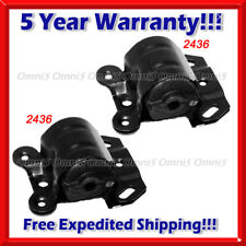 K296 Fit 1990-05 Chevy Astro/GMC Safari 4.3L 2WD Front L & R Engine Motor Mount