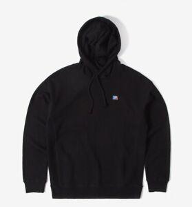 Brand New Sealed Russell Athletic Mason Logo Black Hoody(XXL)