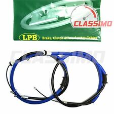 Rear Handbrake Cable Pair for FIAT PUNTO Mk 2 188 - rear drums - 1999 to 2005