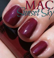 """MAC Nail Lacquer """" SUNSET SKY """" New/Full Size- 100% AUTHENTIC & RARE!!"""