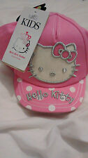 Brand New-Girls Basketball Cap-m&s - 6-18 Mois-Hello Kitty-W. panier