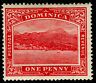 DOMINICA SG48, 1d carmine-red, M MINT.