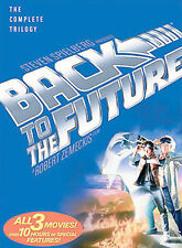 Back to the Future: The Complete Trilogy (Dvd, 2002, 3-Disc Set)