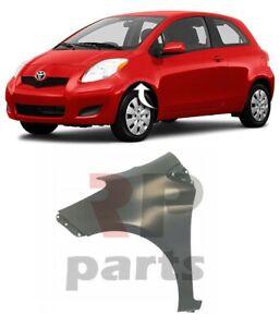 Für Toyota Yaris 09-11 Neu Vorne FENDER Flügel Für Malerei Fließheck Links N/S
