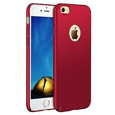 Apple iPhone 5 5S SE Hülle Tasche Case Cover Handy Backcover Handyhülle Rot