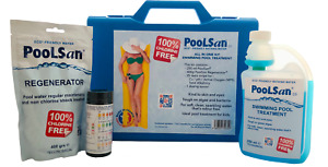 PoolSan Non-Chlorine Chemical Maintenance kit for Above-ground Pools up to 12ft