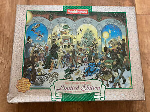 Waddingtons Limited Edition Double Sided Super Deluxe 1000 Piece Jigsaw Puzzle