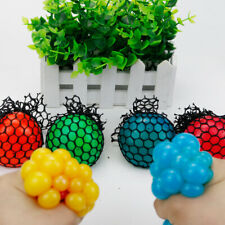 5cm Mesh Ball Squeeze Anti Stress Reliever Kids Child Toy Gift Party