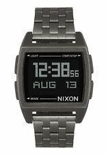 New Nixon Base Digital Watch All Gunmetal