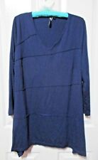 LADIES NAVY BLUE LONG SLEEVED TOP SIZE XXS
