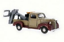 1941 PLYMOUTH PICKUP TOW TRUCK MOTOR MAX 75342AC 1/24 DIECAST CAR