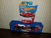 Hot Wheels Mattel 1999 Twang Thang Tara Toy Corp Blue Car Case Style 20015