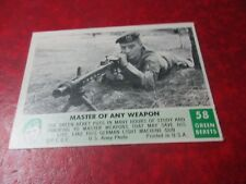 1966 Green Beret #58 - Master of any Weapon