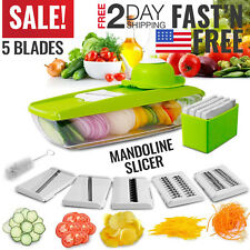 Mandoline Slicer Vegetable Food Slicer Kitchen Chopper Cutter Friut Tomato