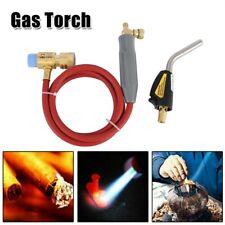 Mapp Gas Plumbing Turbo Torch-Propane Soldering Brazing Welding Kit Tool+5' Hose