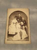 Vintage photo Portrait Couples 1800s