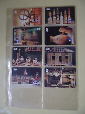 MUSEUM FOLKLORE EDISON CARNEIRO Complete Set 8 Different Phone Cards from Brazil