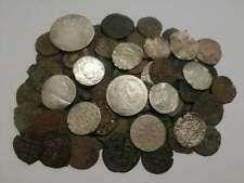 Huge lot 115 Medieval coins (XII-XVII) century, crusader hammered silver bronze