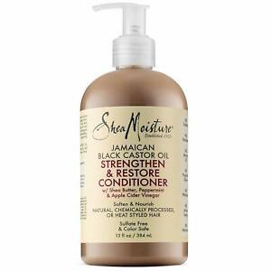 Shea Moisture Strengthen and Restore Conditioner Jamaican Black Castor Oil 13 Oz