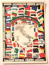 Cartolina Campionato Del Mondo 1990 - C'Ero Anch'Io Stemma Italia Stivale Lu
