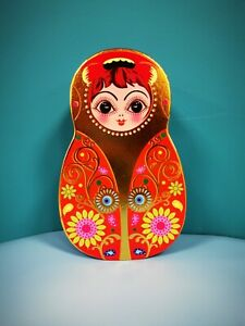 Colourful Cardboard Nesting Doll Boxes