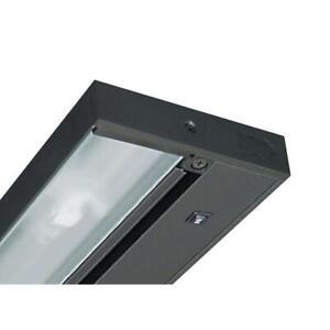Juno Pro-Series 22 in. Black Xenon Under Cabinet Light UPX322 BL