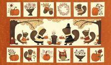 MODA PATCHWORK - PERFECTLY SEASONED PAN PUMPKIN PANEL- 17820-12
