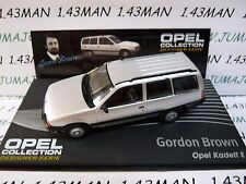 OPE133R 1/43 IXO designer serie OPEL collection : KADETT E Break G.Brown silver