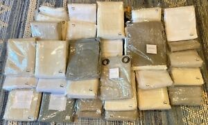 RH Restoration Hardware curtain drapery panels Belgian Linen Thai Silk Perennial