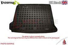 Rubber Boot Tailored Black Mat Protector TOYOTA PRIUS HYBRID mk4 liftback 15-up