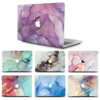 Matte Marbled Hardshell Case Protector for MacBook 2010-2020 Air Pro 13 / M1 CPU