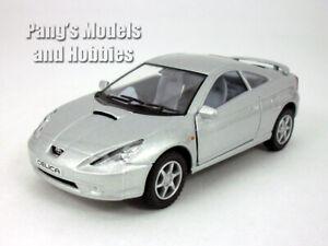 5 inch Toyota Celica 1/34 Scale Diecast Model by Kinsmart - SILVER