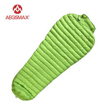 Aegismax 95% Natural Urltra-Light Goose Down Compactable Mummy Sleeping Bag 440g