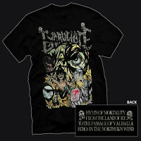 EXCRUCIATE - Hymns Of Mortality (Official t-shirt) MEDIUM   Benediction Revenant