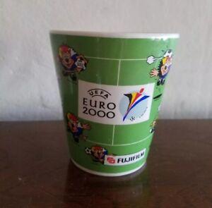 FUJIFILM  UEFA EURO 2000 GREEN MUG