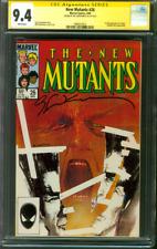 New Mutants 26 CGC SS 9.4 Bill Sienkiewicz 1st Legion X Men Movie TV Show 1985