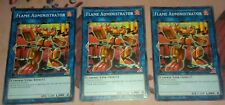 Flame Adminstrator EXFO-EN041 Lot of 3 Commons Extreme Force Yu Gi Oh