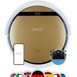 ZACO V5x - 2in1 Saugroboter mit Wischfunktion mit Ladestation Roboterstaubsauger