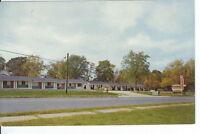 CH-353 GA, Claxton, McCorkle's Motel US 301 and 25 Chrome Postcard