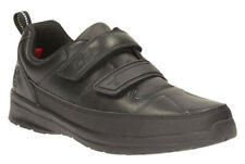 Clarks REFLECT ACE Boys Black Leather School Shoes 13 - 2.5 F Fit NEW BOXED