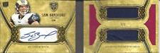 Sam Bradford Auto Dual Jersey Card Rookie Booklet Topps Supreme 3/3 = 1/1 RARE