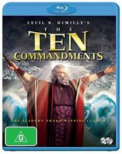 The Ten Commandments : NEW Blu-Ray