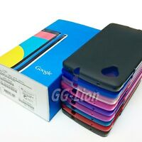 Matte Surface Silicone Case Gel Rubber TPU Skin Cover for Google Nexus 5, E980