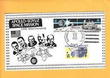 Limited Collector Made #1of7 & Signature Space USA Soyuz Apollo 15th Anniv  Z1