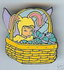 Fantasy TINKER BELL Easter Basket LE100 Pin
